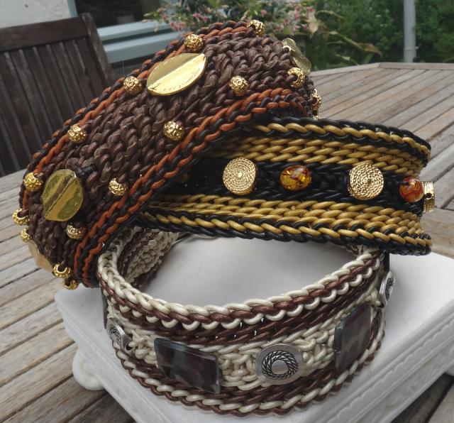 3 Halsbänder Juni 13