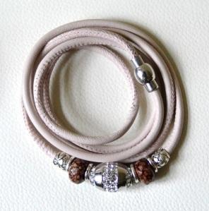 nude 5-fach braun-silber