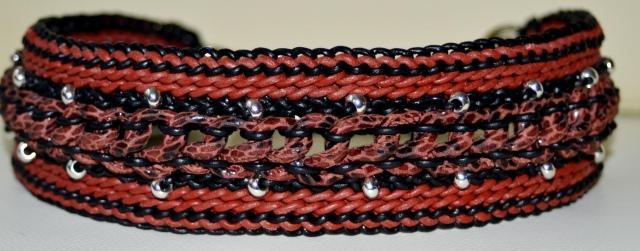 snake rotbraun 48-53 cm, 84,--