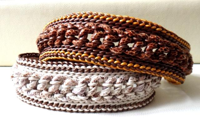 fb snake braun und beige ab 79,-- b. 45 cm